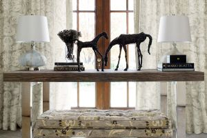Travers  Carlyle Collection  ТКАНЬ AUBREY DAMASK