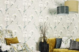 SANDERSON КОЛЛЕКЦИЯ Aegean Vinyl Wallpapers ОБОИ Eleni