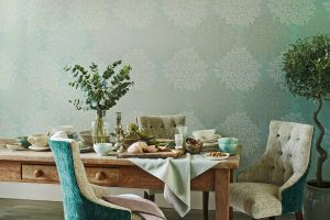 SANDERSON КОЛЛЕКЦИЯ Aegean Vinyl Wallpapers ОБОИ Lindos