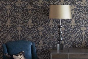 ZOFFANY коллекция Constantina Damask Wallpapers  обои  Tespi
