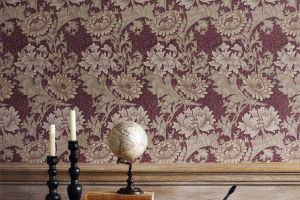 Morris & Co. коллекция Archive II Wallpaper обои Chrysanthemum