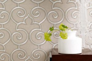 James Hare коллекция  Silk Wallcovering обои Parterre Silk Wallcovering