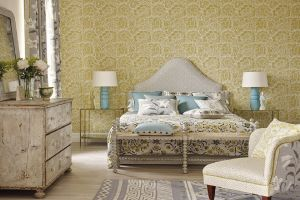 SANDERSON КОЛЛЕКЦИЯ Sojourn Wallpapers ОБОИ Poppy Damask